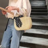 Knitted Japanese Plain Tote Bags