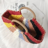 Knitted Grass Japanese Tote Bags