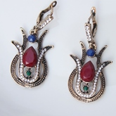 Earrings E-Plating Vintage Jewelry Sets (Wedding)