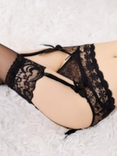 See-Through Plain Lace Garters(Excluding Thong and Stockings)