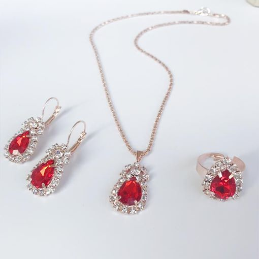 Earrings European Water Drop Jewelry Sets (Wedding)