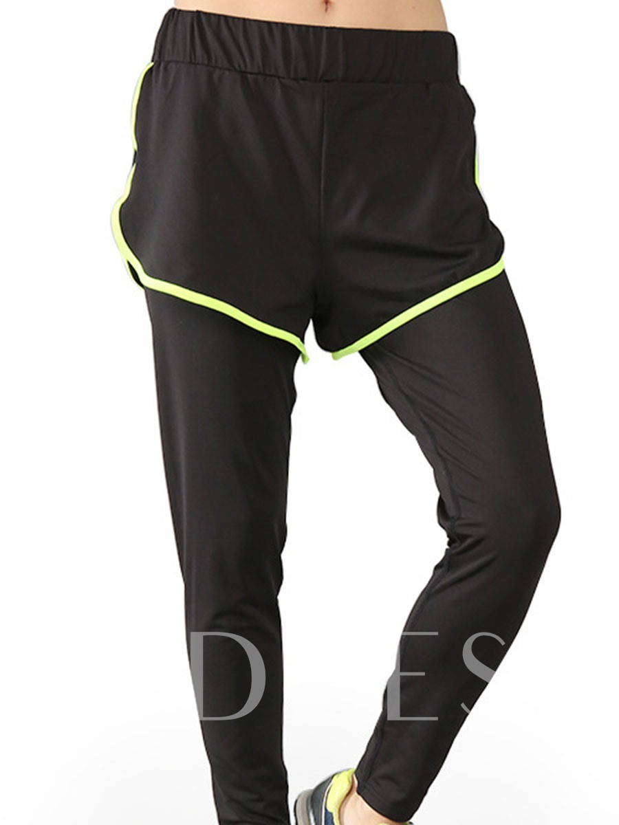 Women's Plus Size Polyester Female Full Length Sports Pants