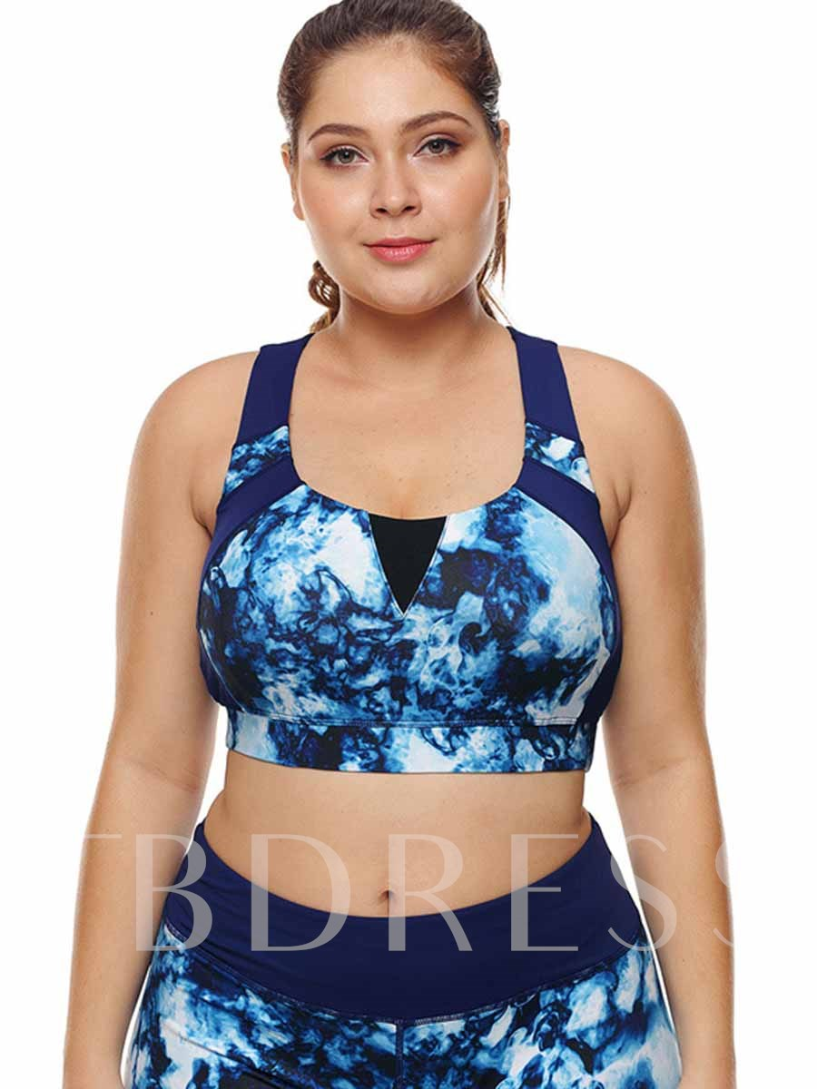 Women's Plus Size Free Wire Full Cup Sports Bra