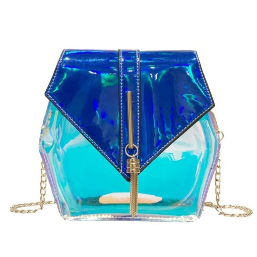 Chain PVC Crossbody Bags