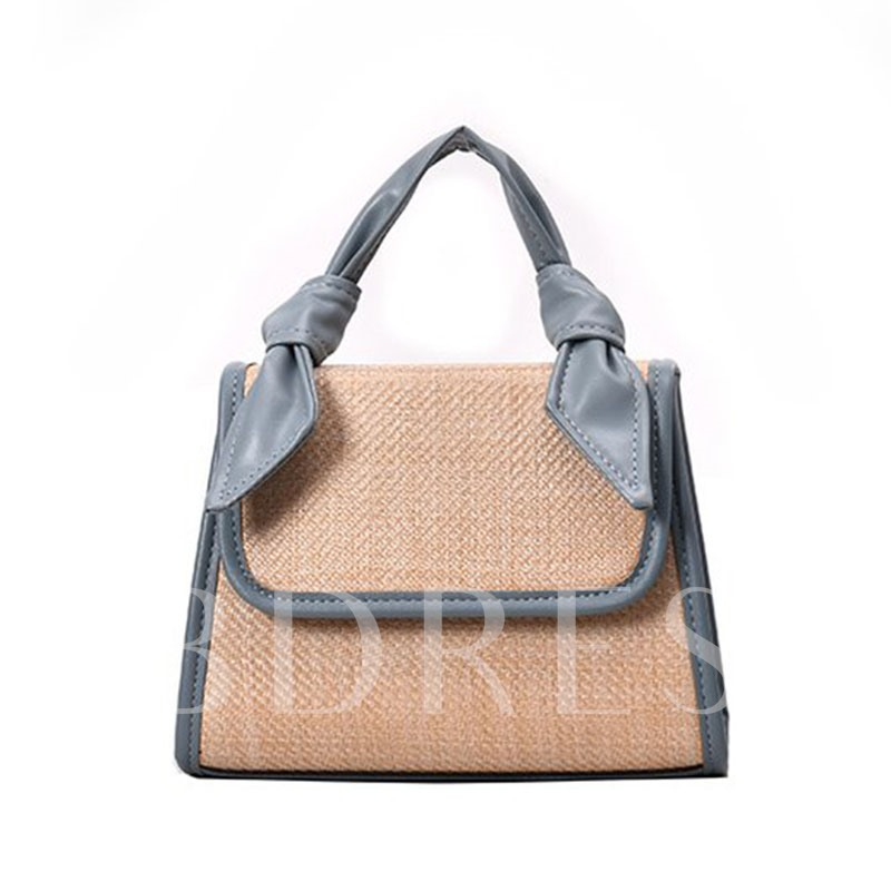 Patchwork PU Tote Bags