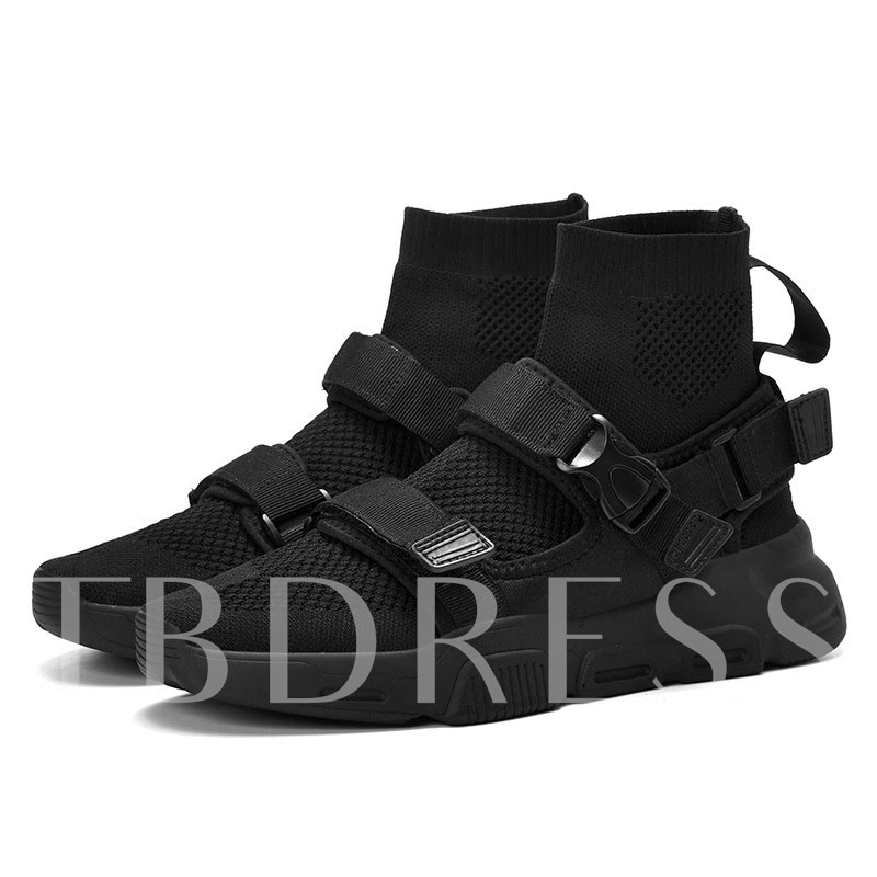 Velcro High Top Chic Men's Sneakers