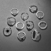 European E-Plating Alloy Party Rings