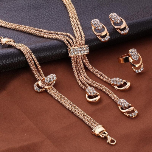 Floral European Ring Jewelry Sets (Wedding)