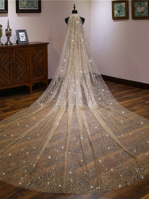 One-Layer Wedding Veil 2019