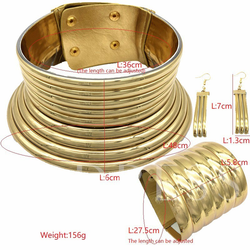 E-Plating European Bangle Gift Jewelry Sets
