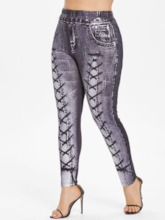 Skinny Lace-Up Pencil Pants Women's Casual Pants