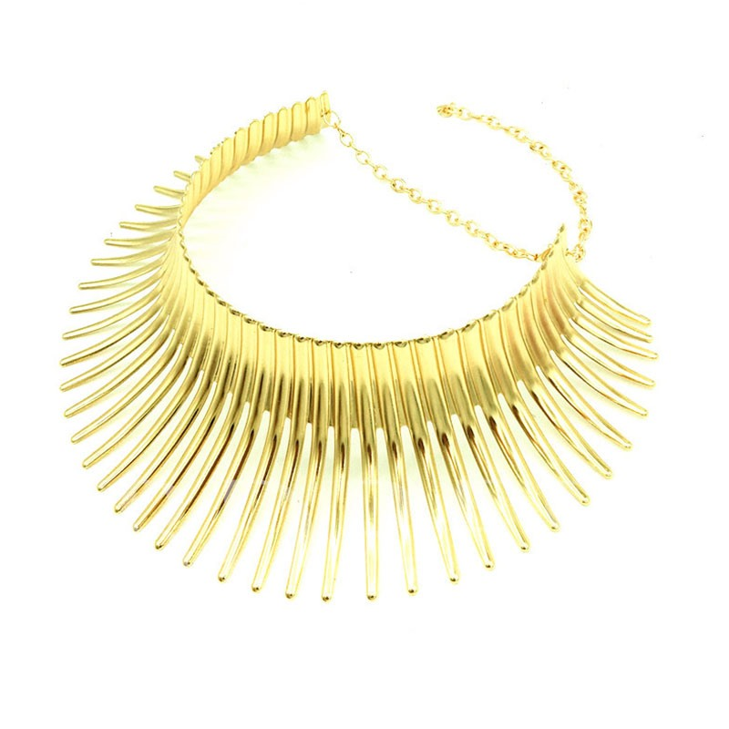 European Choker Necklace E-Plating Female Necklaces