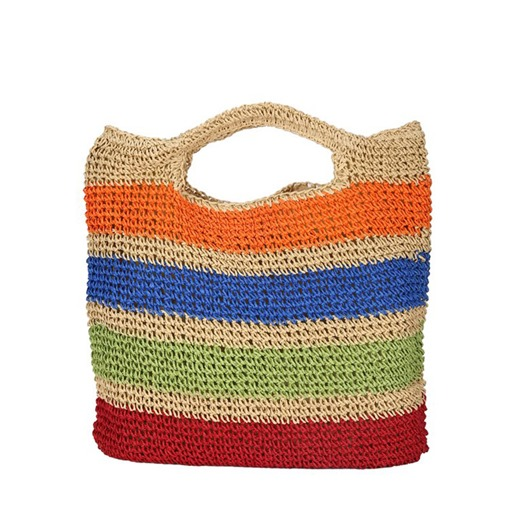 Knitted Grass Stripe Tote Bags