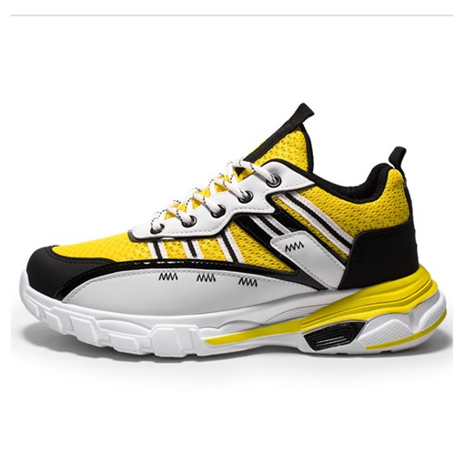 Lace-Up Color Block Sports Outdoor Men's Sneakers