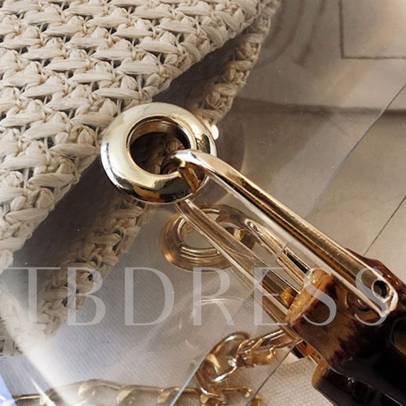Letter Chain Tote Bags