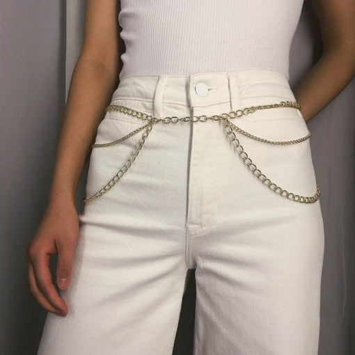 Metal Female European Waist Chains
