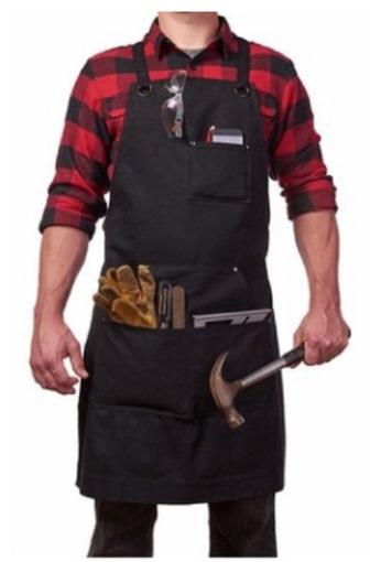 Tool Apron Canvas BBQ Apron Garden Carpenter Apron