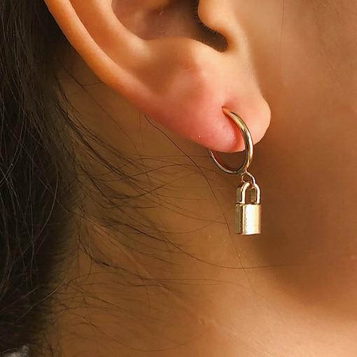 European Alloy Plain Party Earrings