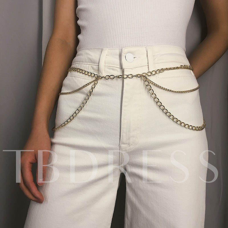 Metal Female European Waist Chains by Metal Female European Waist Chains