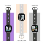 Creative Silicone Smart Bluetooth Full Touch Screen Men's Watch