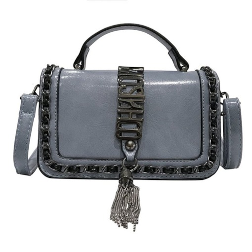 Letter PU Chain Crossbody Bags