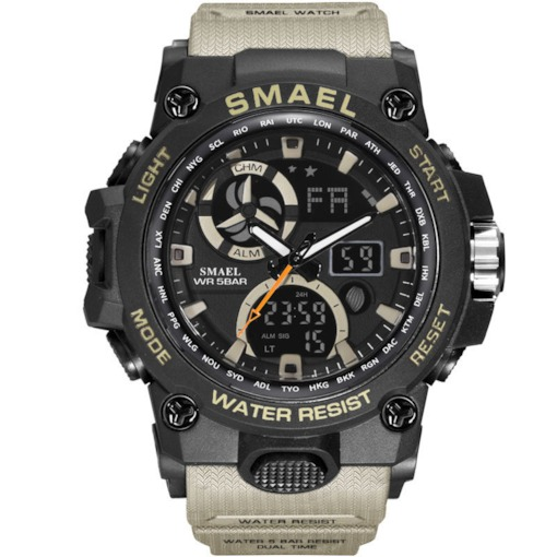 Military Waterproof Sport Shock Resistant Men's Watches