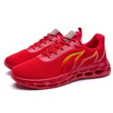 Lace-Up Sports Comfy Men's Running Shoes