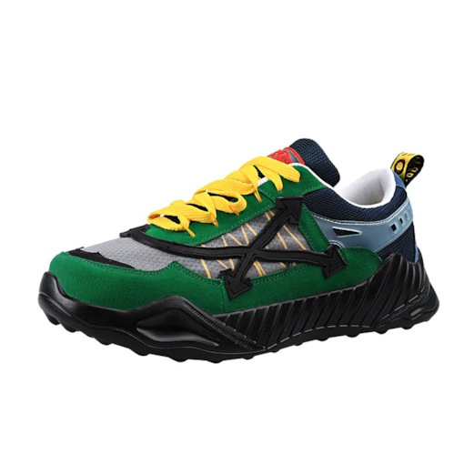 Sports Low-Cut Upper Lace-Up Mesh Men's Chunky Sneakers