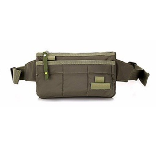Thread Nylon Casual Functional Men Waist Bags