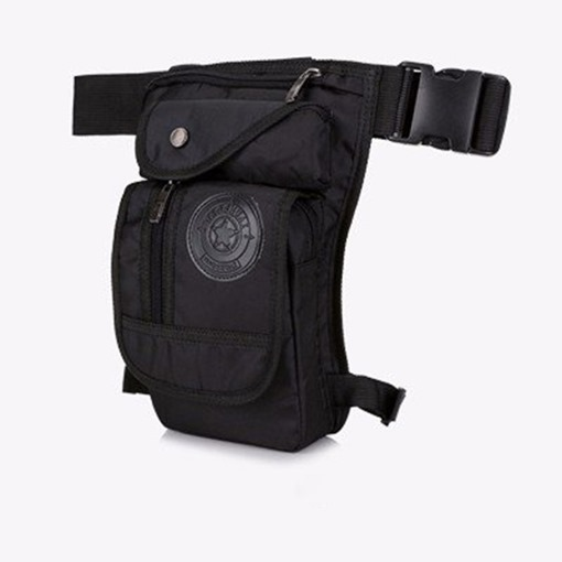 Thread Nylon Waist Anti-Thief Sling Waterproof Men's Bag