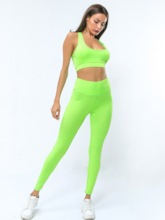 Women's Anti-Insect Sleeveless Pullover Yoga Workout Set