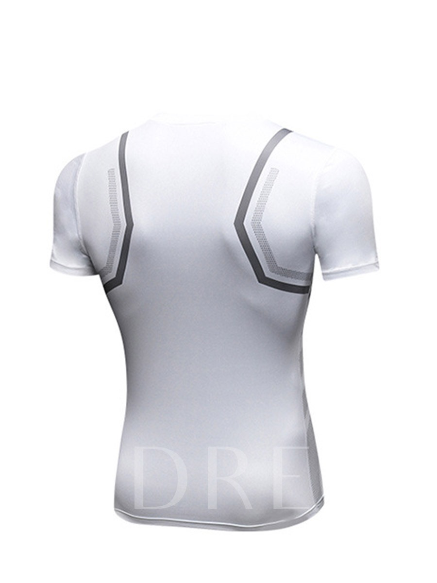 Men's Breathable Quick-drying Short-sleeved T-shirt