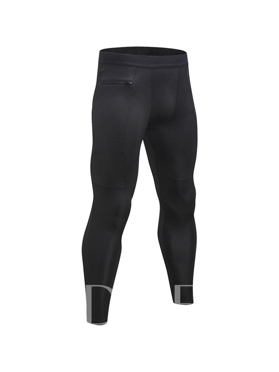 Men's Zipper Pocket Workout Trousers