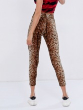 Women's Cotton Leopard Sports Leggings