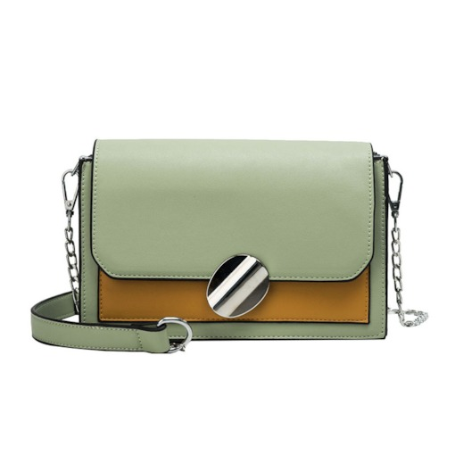 Color Block PU Crossbody Bags