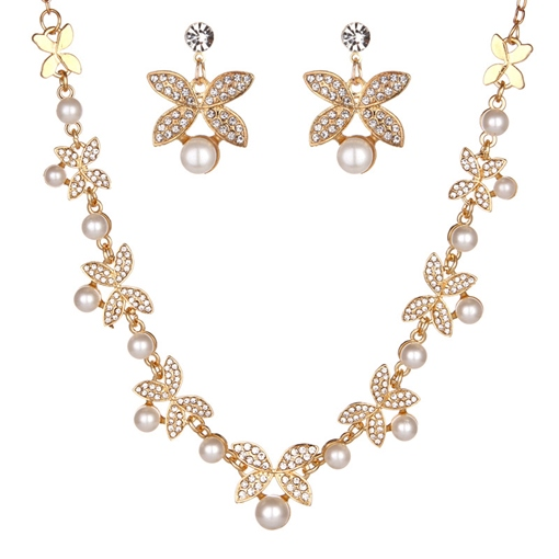 European Spherical Necklace Jewelry Sets (Wedding)