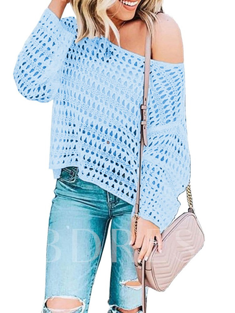 Hollow Thin Spring Women's Sweater