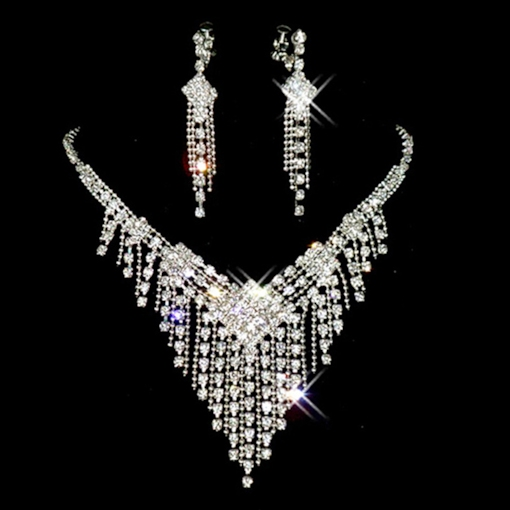 Star E-Plating Korean Jewelry Sets (Wedding)