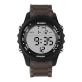 Digital Round Luminous Men's Watch