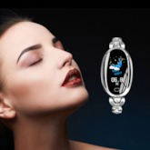 Oval Water Resistant Hardlex Watches
