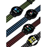 Digital Hardlex Round Men's Watch