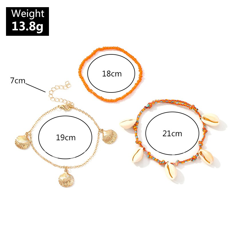 Shell Pendant E-Plating Sweet Women Bracelets