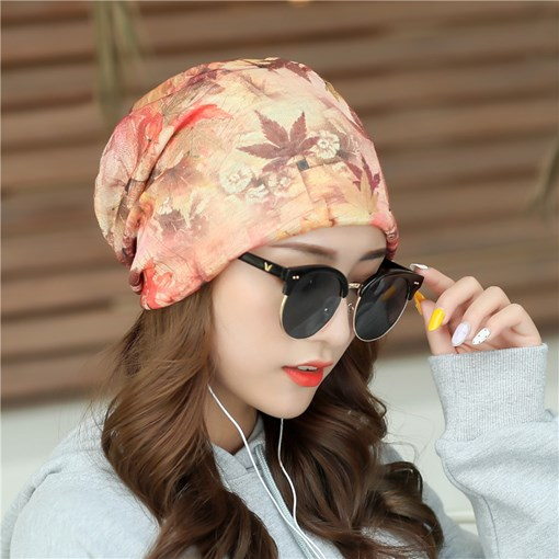 Print Cotton Casual Plant Hats