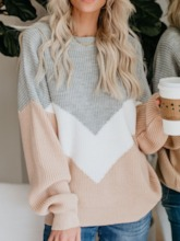 Thin Round Neck Women's Sweater