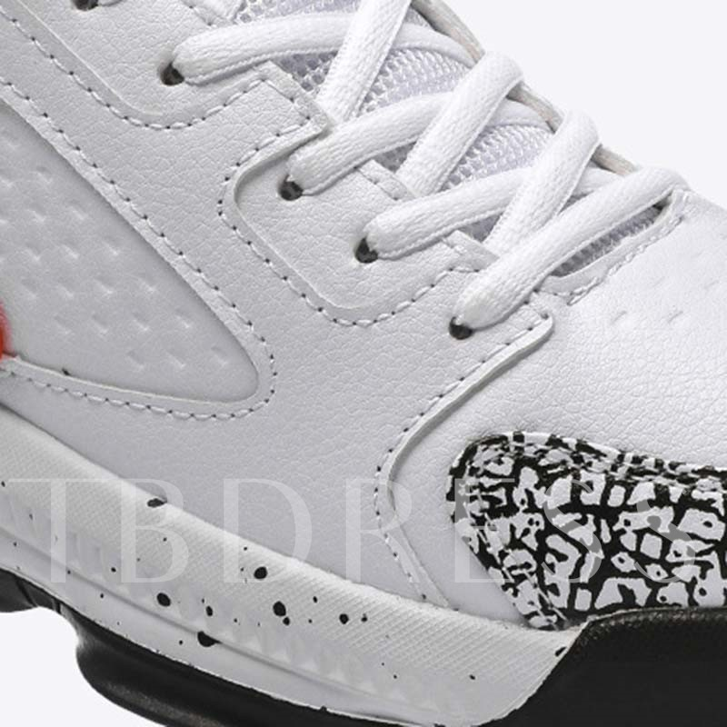Lace-Up Color Block Outdoor Men's Sneakers