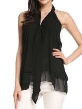 Summer Asymmetric Mid-Length Women's Tank Top