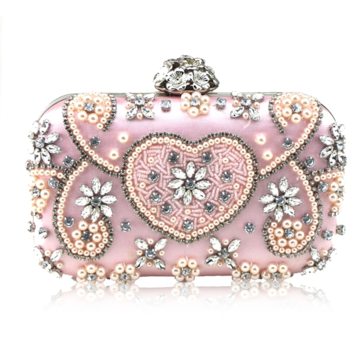 Luxurious Handtailor Rhinestone Rhinestone Clutch