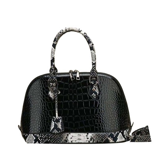 Embossing Alligator PU Shell Tote Bags