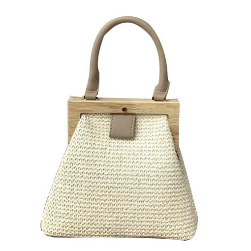Plain Knitted Grass Tote Bags