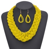 Woven Necklace Bohemian Gift Jewelry Sets